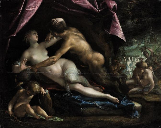 Pan and Selene, 1605