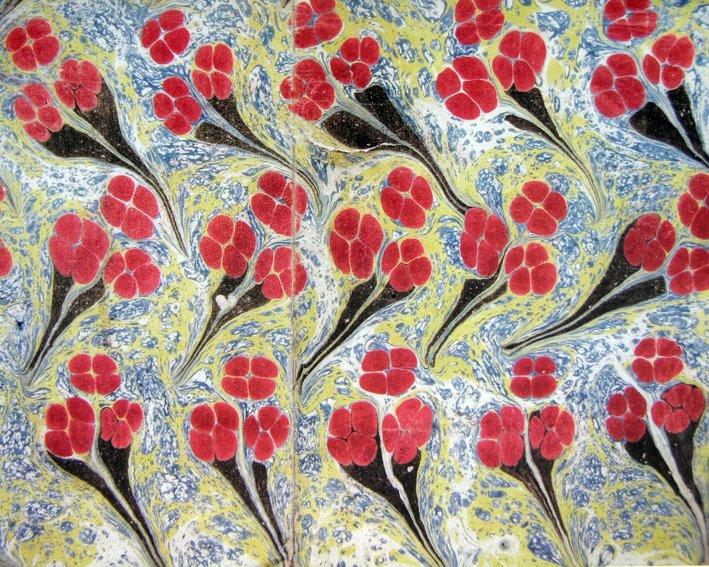 Ebru (attributed) - Hatip Mehmed Efendi