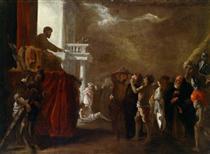 Der heilige Cyriakus - Johann Heinrich Schönfeld