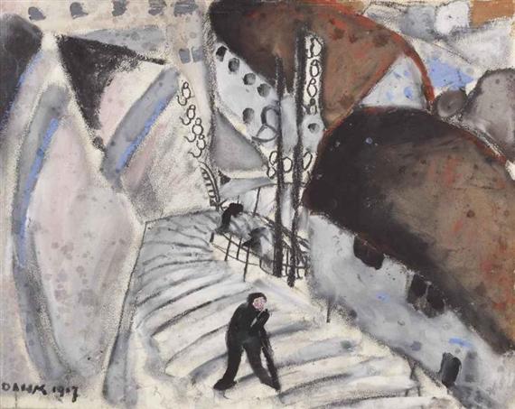 Die Treppe, 1907 - Helen Dahm