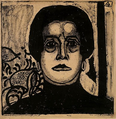 Portrait of a Woman - Helen Dahm