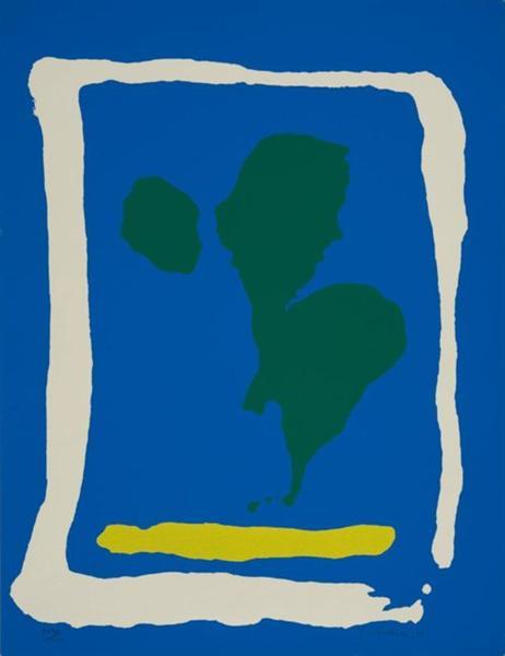 Air Frame, 1965 - Helen Frankenthaler