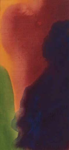 Blue Atmosphere III, 1963 - Helen Frankenthaler