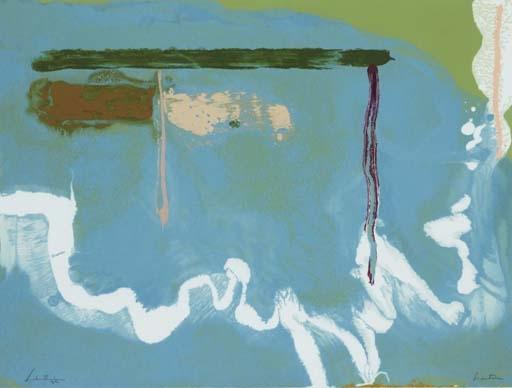 Skywriting, 1997 - Helen Frankenthaler