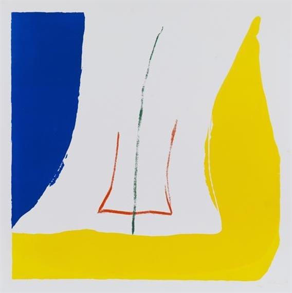 Sun Corner, 1968 - Helen Frankenthaler