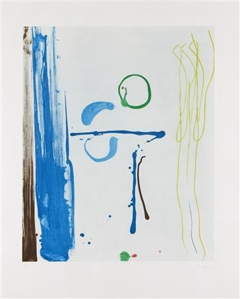 Sunshine After Rain, 1987 - Helen Frankenthaler
