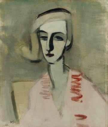 The Teacher, 1933 - Helene Schjerfbeck