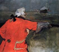 Admiral Viaud - Henri de Toulouse-Lautrec
