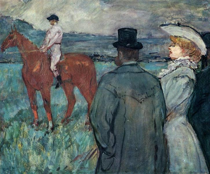 At the Races, 1899 - Анри де Тулуз-Лотрек