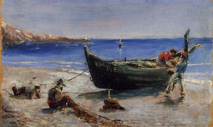Fishing Boat, 1880 - Henri de Toulouse-Lautrec