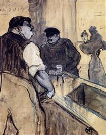 The Bartender - Henri de Toulouse-Lautrec