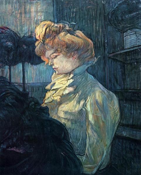 The Milliner, 1900 - Анри де Тулуз-Лотрек