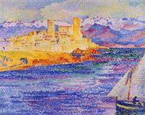 Antibes - Henri-Edmond Cross