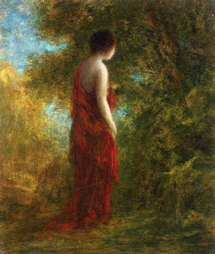 Autumn painting by Henri Fantin-Latour (19th century)
