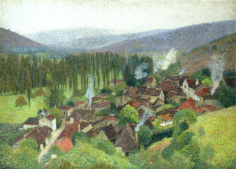 View of the Terrasse de Marquayrol, Labastide du Vert, 1935 - Henri Martin