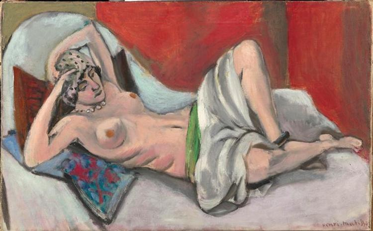 Draped Nude, c.1922 - Henri Matisse