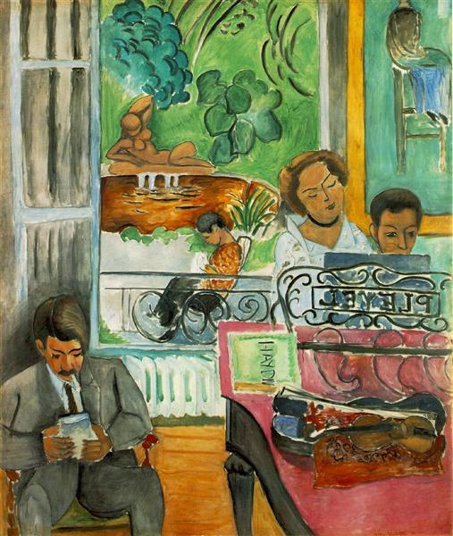 he Music Lesson, 1917 - Henri Matisse