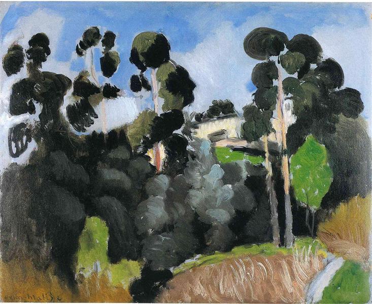 Landscape, 1918 - Henri Matisse