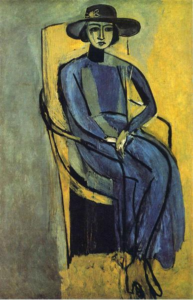 Portrait of Greta Prozor, 1916 - Henri Matisse
