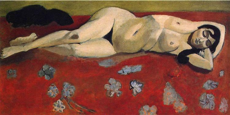 Lorette Reclining, 1917 - Henri Matisse