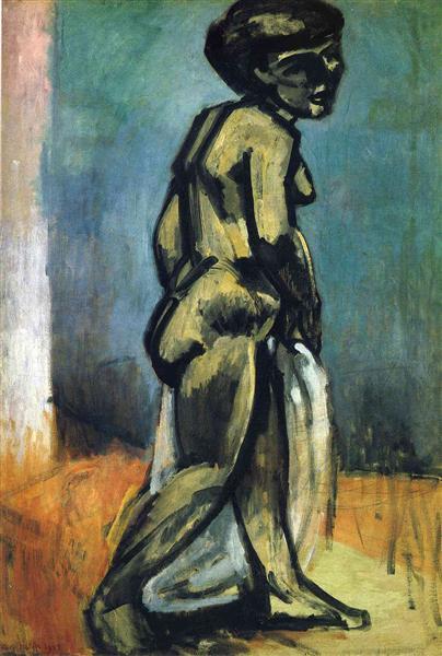 Standing Nude (Nude Study), 1907 - Henri Matisse