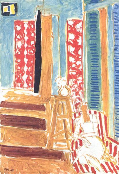 Sunlit Interior, 1942 - Henri Matisse