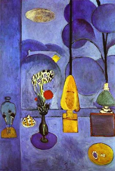 The Blue Window, 1911 - Анри Матисс