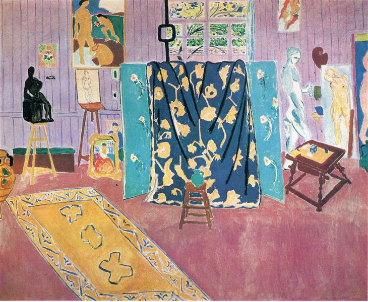 The Pink Studio, 1911 - Henri Matisse