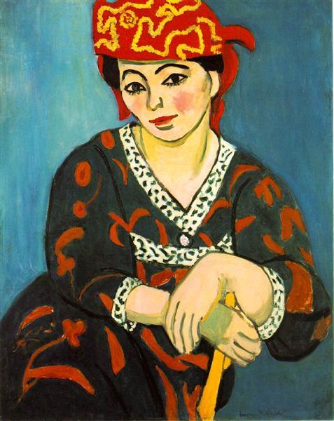 The Red Madras Headdress, 1907 - Henri Matisse