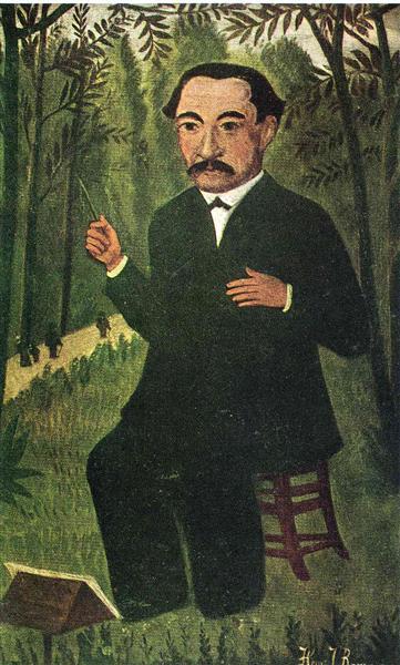 Henri Rousseau as Orchestra Conductor - Henri Rousseau