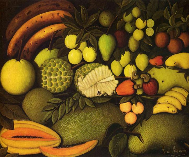 Still Life with Exotic Fruit, 1908 - Henri Rousseau