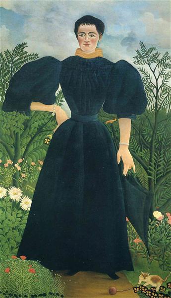 Portrait Of A Woman, C.1895