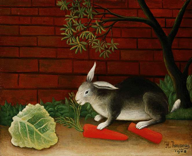 Rabbit, 1908 - Henri Rousseau