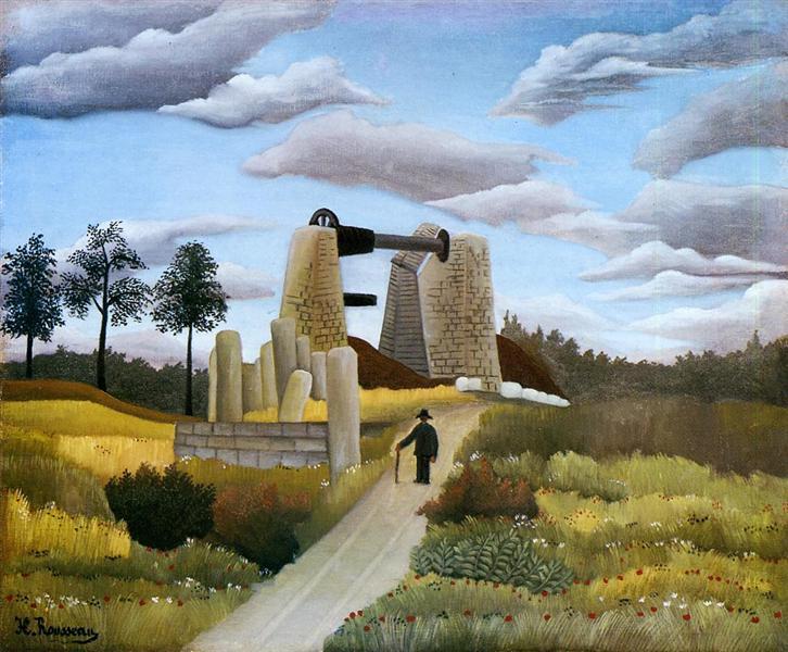 The Quarry, 1896 - 1897 - Henri Rousseau