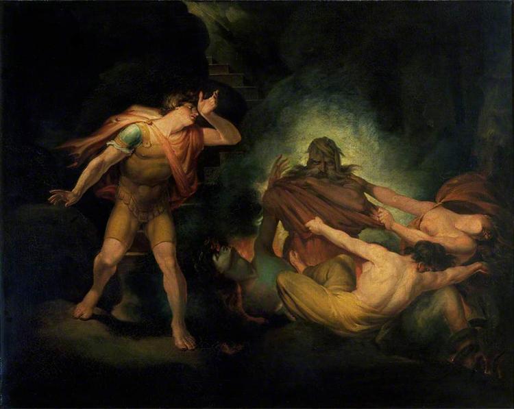 The Fire King, 1810 - Johann Heinrich Füssli