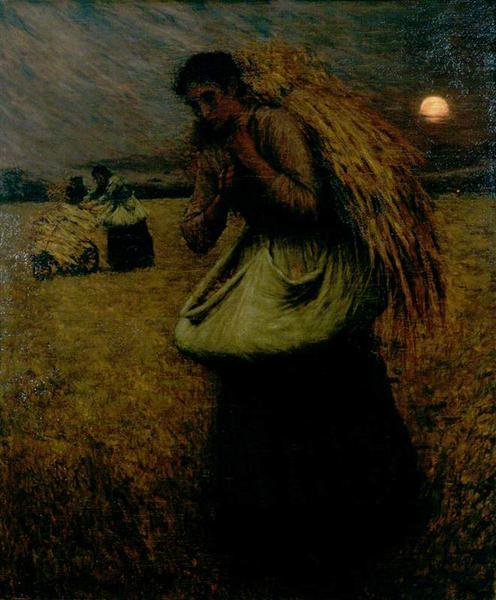 Nightfall (The Gleaners), 1895 - Henry Herbert La Thangue