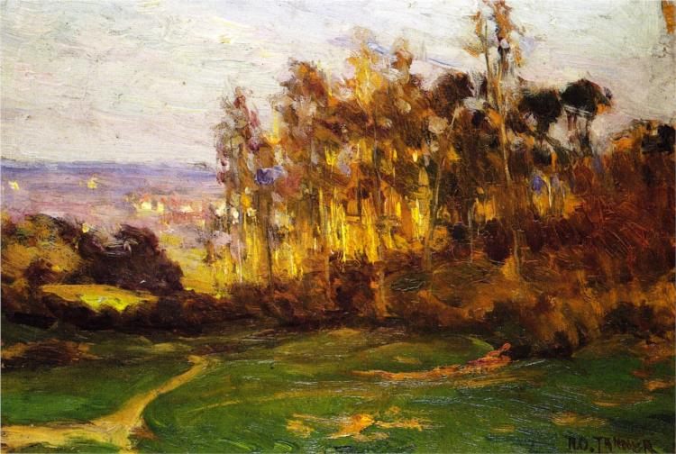 Edge of the Forest, 1893 - Henry Ossawa Tanner