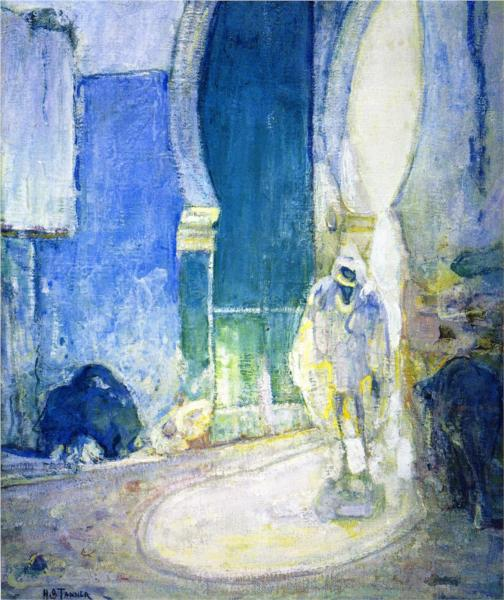 Gate to the Casbah, 1914 - Henry Ossawa Tanner