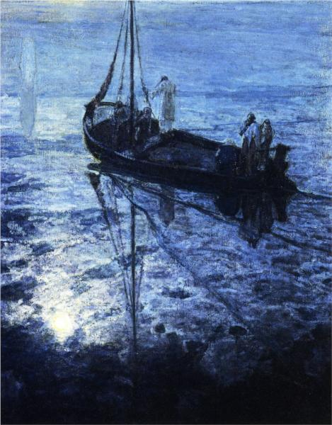 The Disciples See Christ Walking on the Water, 1907 - Henry Ossawa Tanner