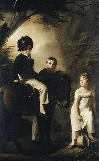 The Drummond Children, c.1808 - c.1809 - Генрі Реберн