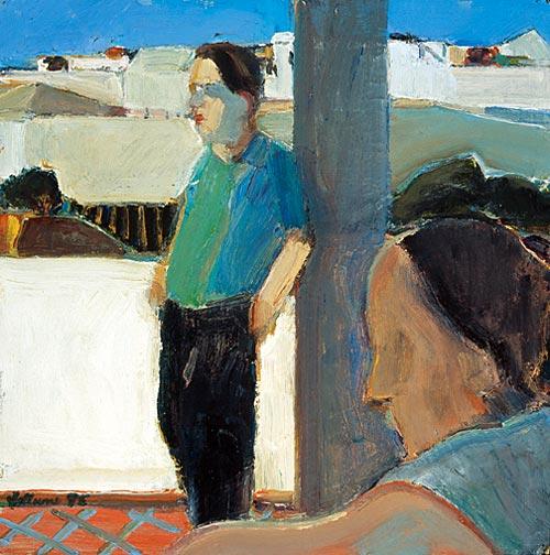 A Quiet Moment, 1995 - Henry Villierme
