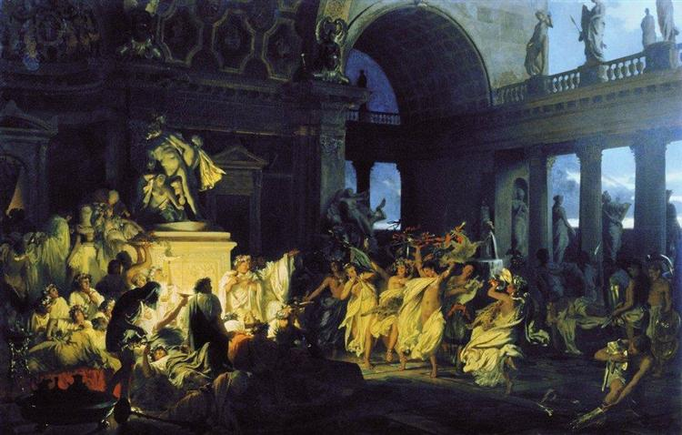 Roman Orgy in the Time of Caesars, 1872 - Henryk Siemiradzki