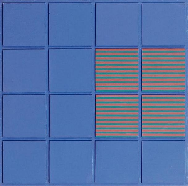 Relief no. 11, 1973 - Henryk Stazewski