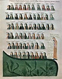 Commentary of Hoheburg (folio 323r) - Herrad of Landsberg