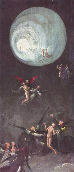 Ascent of the Blessed - Hieronymus Bosch