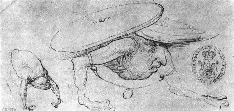 Study of Monsters - Hieronymus Bosch