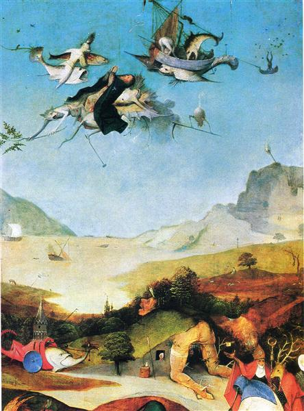 Temptation of St. Anthony, 1505 - 1506 - El Bosco
