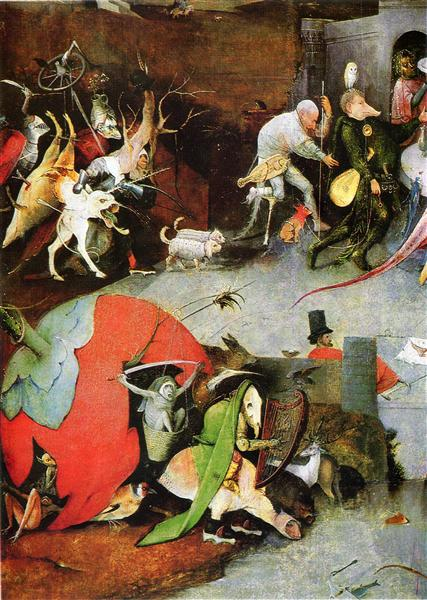 Temptation of St. Anthony (detail), 1505 - 1506 - Hieronymus Bosch