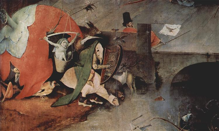 The Temptationof St.Anthony (detail), 1460 - 1516 - Hieronymus Bosch