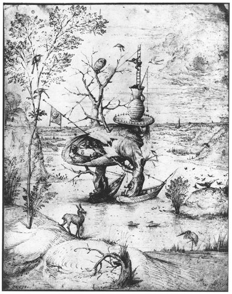 Tree Man, c.1500 - Hieronymus Bosch